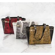 Reptilean Tote EY Boutique