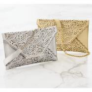 Cutwork Clutch by EY Boutique