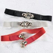 Jeweled Stretch Belt by Yoki