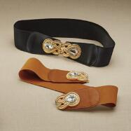 Embellished Stretch Belt