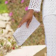 Crochet Cachet Handbag from Sundays by Nubiano