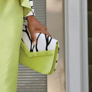 Lime Branch Handbag by Nubiano