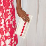 Red Line Handbag by Lisa Rene™