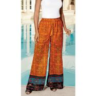 Clearance Color Wide-Leg Gypsy Pants by Studio EY