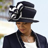 Simply Stunning Church Hat by EY Signature