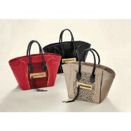 Leopard-Trim Tote by EY Boutique