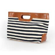 Striped Handbag by EY Boutique