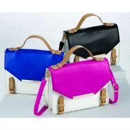 Colorblock Satchel by EY Boutique