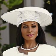 Glam Branches Church Hat by Lisa Rene
