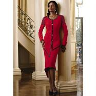 Linear Elegance 2-Pc. Suit by Lisa Rene