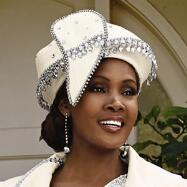 Gleams of Church Glam Hat by Lisa Rene