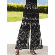 Print Flowy Palazzo Pants by EY Boutique