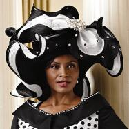 **SOLD OUT** Lots of Dots Church Hat by Lisa Rene