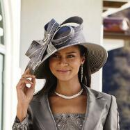 Sutton Place Church Hat by Tally Taylor