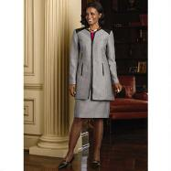 Streamlined 2-Pc. Suit by Isabella Suits