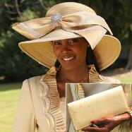 Gleam of Gloria Hat and Handbag Set by BMJ