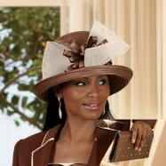 Distinctly Darica Hat and Handbag Set by BMJ