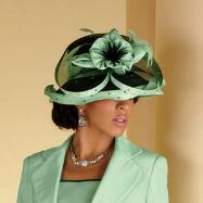 Hint of Mint Hat from ML Studio by Milano