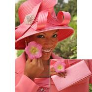 Julia's Jeweled Hat and Handbag Set by BMJ
