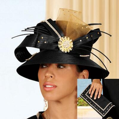 Look of Luxe Hat and Handbag Set from BMJ Studio