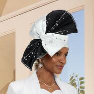 In Contrast Hat by Tally Taylor