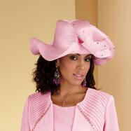 Pretty in Pink Hat by Tally Taylor