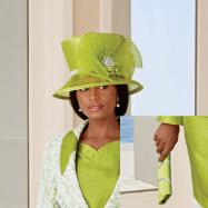 Lace 'n' Shine Hat and Handbag Set by BMJ Studio