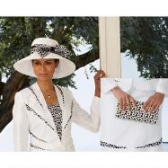 Lots of Dots Hat and Handbag Set by BMJ Studio