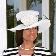 Luxury Lines Hat by Lily and Taylor