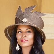 Sideswept Hat by Lisa Rene™