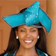 Azulene Hat and Handbag Set by BMJ Studio