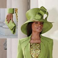 Bright Now Hat and Handbag Set by BMJ Studio