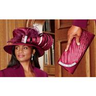 Gala Hat and Handbag Set by BMJ Studio