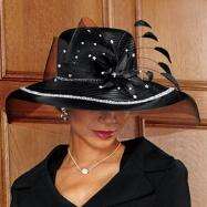 Art of Texture Hat and Handbag Set by BMJ Studio