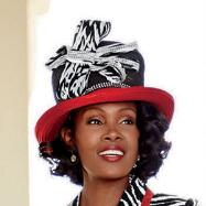 Brava Zebra Hat by EY Signature