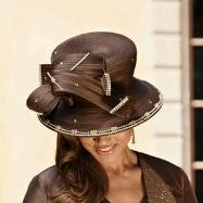 Chocolate Chic Hat by Tally Taylor