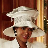 More Glamour Hat by Lisa Rene™