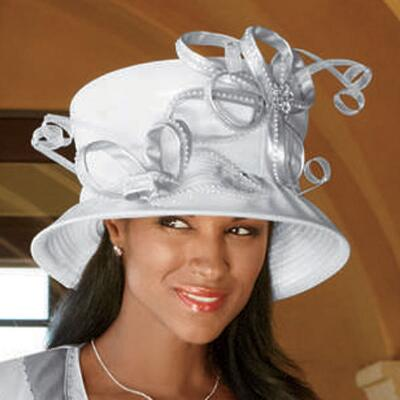 Cool Pleatherette Hat by Tally Taylor