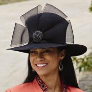 Beau Borders Church Hat by EY Signature