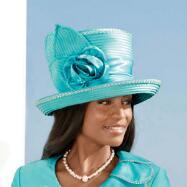 Shantung Chic Hat