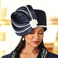 Cut Above Church Hat by Verucci by Chancelle