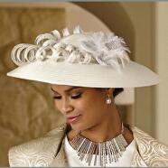 Bravo Brocade Church Hat by EY Signature