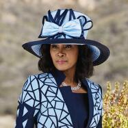 Modern Lines Church Hat by EY Signature