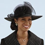 Always in Style Church Hat by EY Signature