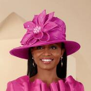 Fuchsia Chic Hat from Lily and Taylor