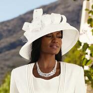 Clair de Lune Church Hat by EY Signature