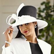 Delmonico Church Hat by Verucci by Chancelle