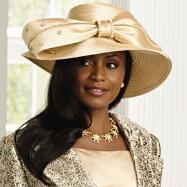 Gold Coast Church Hat by EY Signature