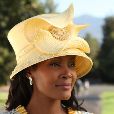 Margarette's Epaulette Hat by Lisa Rene