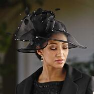 Night Blooms Church Hat by EY Signature